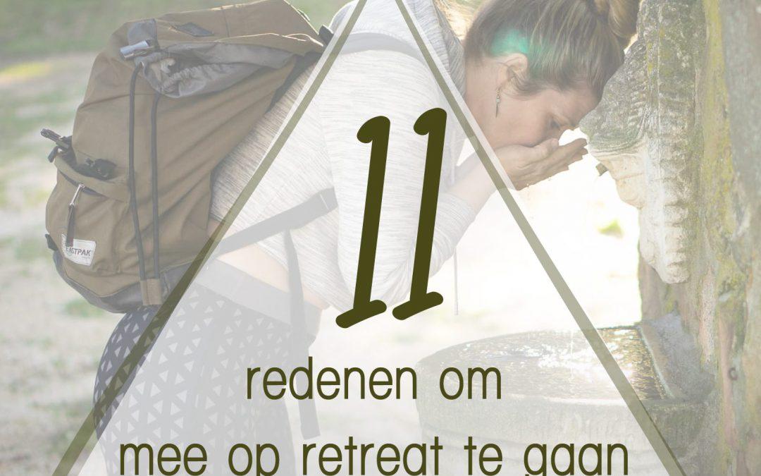 11 redenen om mee te gaan op retreat