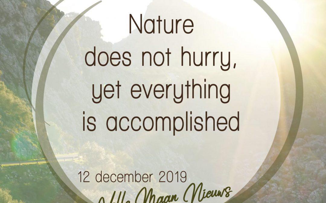 Volle Maan nieuws 12-12-2019